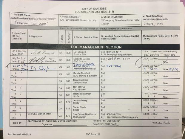 EOC check in (2)