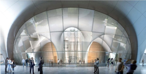 La city council approves plans for george lucas museum for Star wars museum california