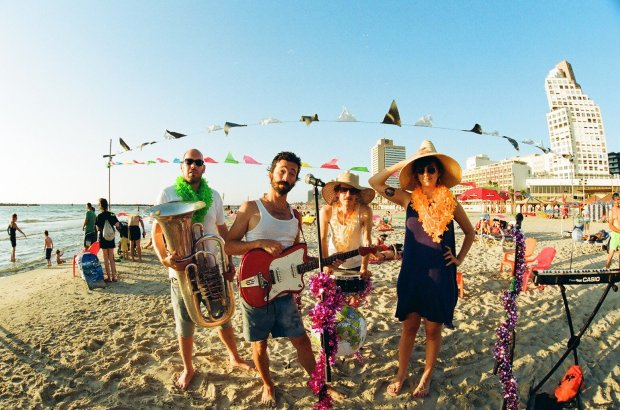 The Tel Aviv-based band Boom Pam will play at the Silicon Valley Jewish Music Festival. (Addison Penzak JCC)