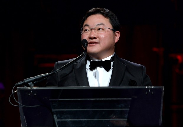 NEW YORK, NY - OCTOBER 20: Mr. Jho Low speaks onstage during Angel Ball 2014 hosted by Gabrielle's Angel Foundation at Cipriani Wall Street on October 20, 2014 in New York City. (Photo by Dimitrios Kambouris/Getty Images for Gabrielle's Angel Foundation)