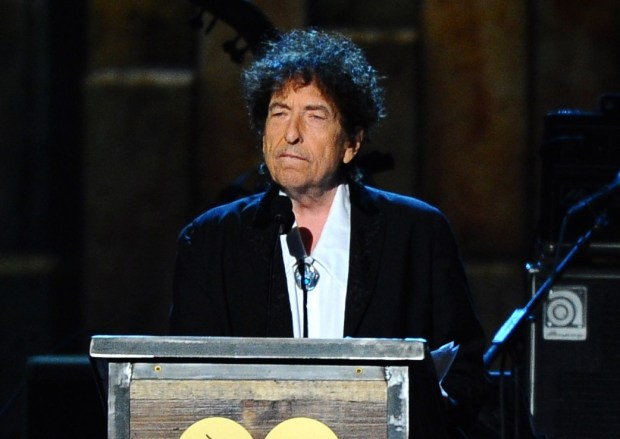 Bob Dylan, in 2015. (Photo by Vince Bucci/Invision/AP, File)