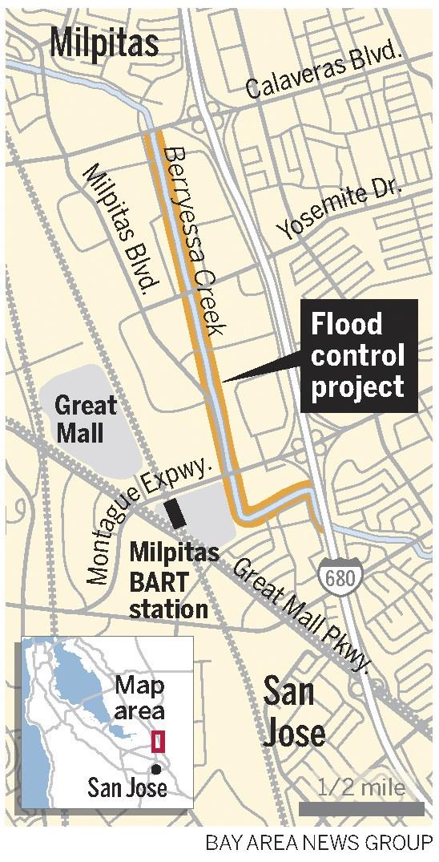 Upper Berryessa Creek Flood Control Project