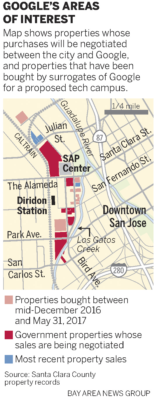 Google downtown village plan gets its first OK from San Jose City