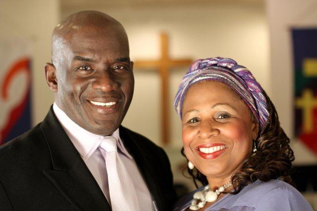 Joel and AnnaLisa Jones, pastors with the Spirit of Truth Church Worldwide in Crockett, are credited with intervening in an assault on a California Highway Patrol officer in American Canyon on June 17, 2017.