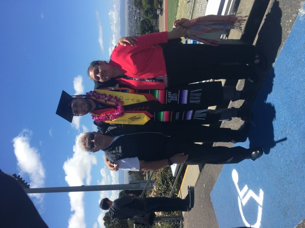 Alejandro Bautista Zugaide graduated from Cal State East Bay this spring.(Courtesy of Alejandro Bautista Zugaide)