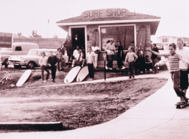 Jack O'Neill's original surf shop was opened in 1959 at Cowell Beach. (O'Neill Wetsuits/Contributed)