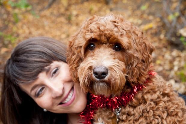 Walnut Creek attorney Stefanie West and her dog, Penny. (Courtesy of Stefanie West)