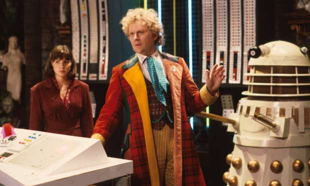 Colin Baker as the Doctor in Doctor Who. Photograph: BBC