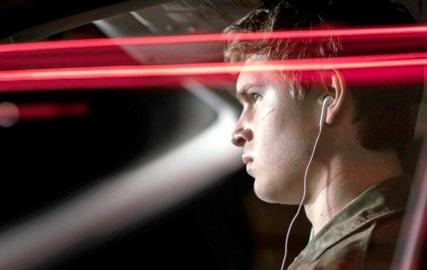 "Ansel Elgort in ""Baby Driver."" (Wilson Webb/Sony/TriStar)"