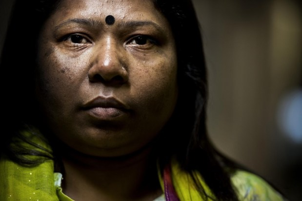 Kalpona Akter, a former garment worker, is the executive director of the Bangladesh Center for Worker Solidarity, one of the country's most prominent labor rights advocacy organizations. (Melina Mara/The Washington Post)