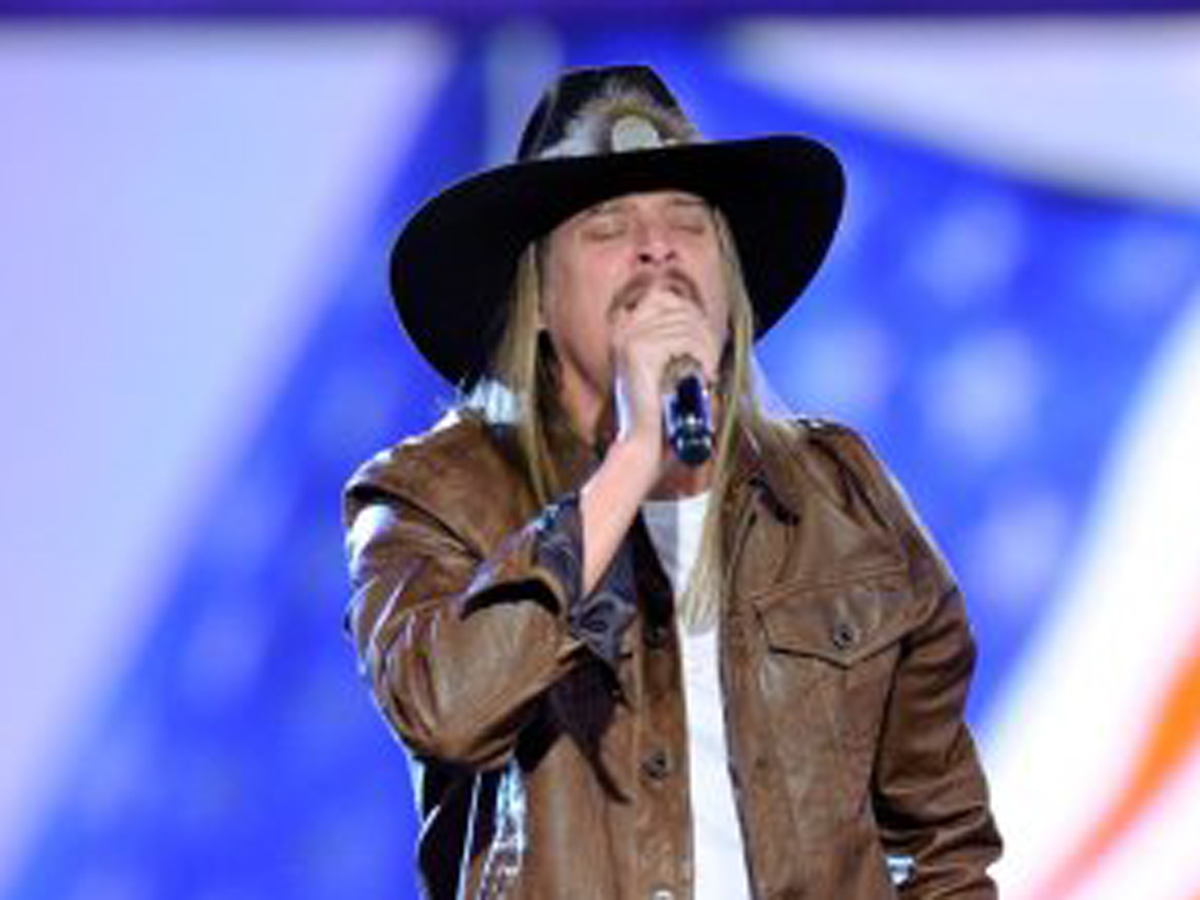 Kid Rock performs at Wynn Las Vegas