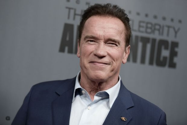"(FILES) This file photo taken on December 9, 2016 shows Arnold Schwarzenegger as he attends ""The New Celebrity Apprentice"" Q & A and Red Carpet Event At Universal Studio, Universal City, California.Arnold Schwarzenegger confirmed on March 3, 2017 that he is terminating his time on ""The New Celebrity Apprentice"" after blaming President Donald Trump's continued involvement for its poor ratings. The 69-year-old actor -- famous for his catchphrase ""I'll be back"" -- had earlier told entertainment magazine Empire he had no plans to return to the show after his bebut season, and would decline even if asked by creator Mark Burnett. ""I loved every second of working with NBC and Mark Burnett. Everyone -- from the celebrities to the crew to the marketing department -- was a straight 10, and I would absolutely work with all of them again on a show that doesn't have this baggage,"" he confirmed in a statement circulated to US media. Schwarzenegger's representatives in Los Angeles did not immediately respond to a request for comment. / AFP PHOTO / RICHARD SHOTWELLRICHARD SHOTWELL/AFP/Getty Images"