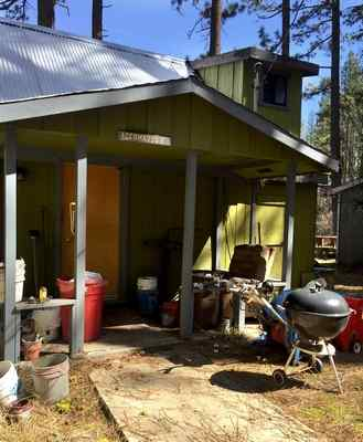 A Marin County deputy district attorney has been accused of conning a dying man into giving him this Plumas County cabin. (Courtesy of Bill Ford law offices)