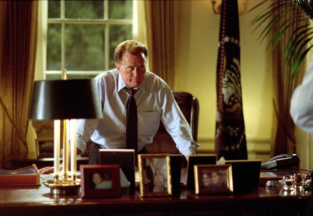 "Martin Sheen played President Josiah Bartlett in the NBC series ""The West Wing."" (Warner Bros.)"