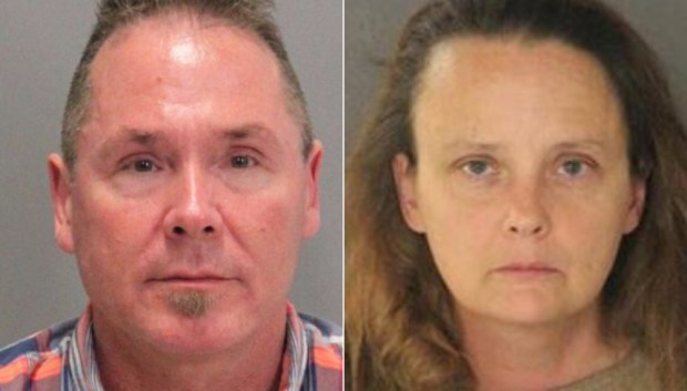 Tacoma residents Michael Kellar and Gail Burnworth. (San Jose Police Department)