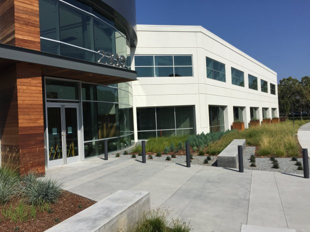 A large office building at 2300 Orchard Parkway in San Jose. A big SanJose office complex that is being leased by Cavium, a fast-growing tech company, has been bought by a Chinese firm, just months after its prior sale.