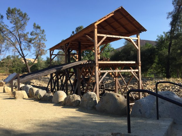 Sutter's Mill, along the American River in Coloma, is where the first goldnugget was found in 1848, launching the Gold Rush of 1849. (Angela Hill/Staff)