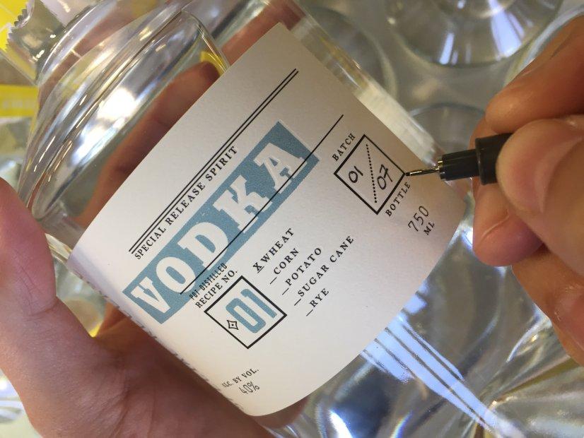 Special Release Recipe 01 Vodka from Santa Cruz's Venus Spirits ishandcrafted in small batches. (Courtesy of Venus Spirits)
