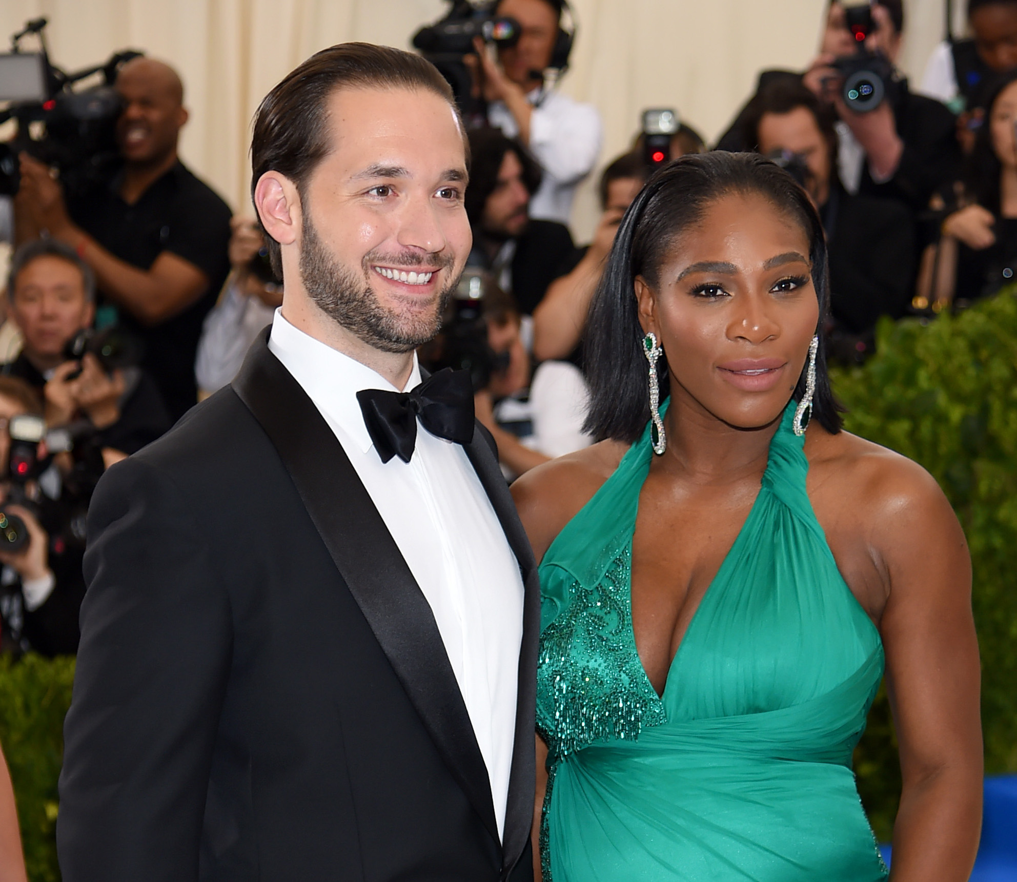 Serena Williams and Alexis Ohanian to Wednesday  on Thursday