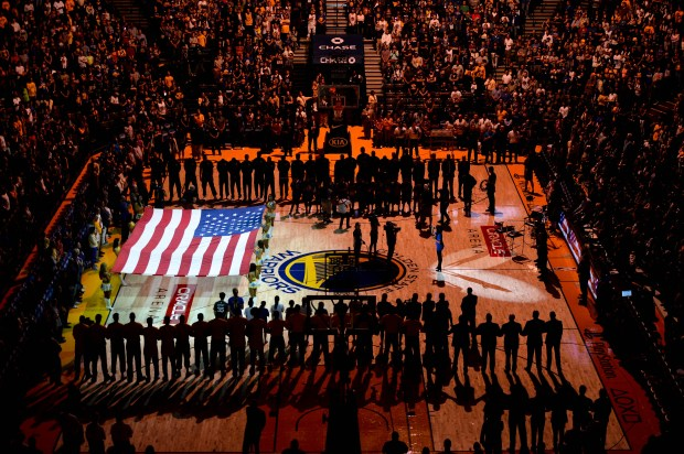 The Warriors made the right decision to stand for the anthem