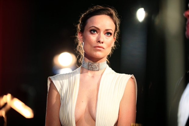 HOLLYWOOD, CA - FEBRUARY 28: Actress Olivia Wilde backstage at the 88th Annual Academy Awards at Dolby Theatre on February 28, 2016 in Hollywood, California. (Photo by Christopher Polk/Getty Images)