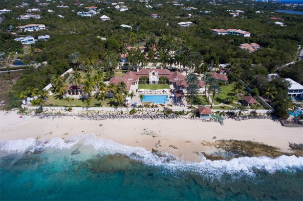 Donald Trump's Le Château des Palmiers on the island of St. Martin (Sotheby's International Realty)