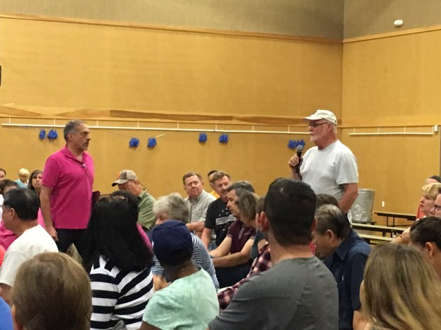 """One man tells Nob Hill representatives that keeping a lease on a blighted store makes the community feel """"held hostage"""" and unsafe"""