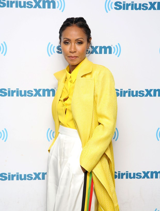 NEW YORK, NY - JULY 19: Jada Pinkett Smith during Hoda Kotb Hosts A Leading Ladies Event With Jada Pinkett Smith For SiriusXM Today Show Radio at SiriusXM Studios on July 19, 2017 in New York City. (Photo by Robin Marchant/Getty Images for SiriusXM)