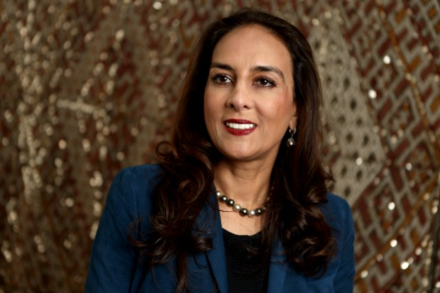 Attorney Harmeet Dhillon California's national committeewoman for the Republican National Committee poses for a photograph at her office in San Francisco, Calif., on Wednesday, Sept. 20, 2017. (Anda Chu/Bay Area News Group)