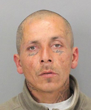 Alan Christopher Gaeta, 40, of San Jose, was arrested on suspicion of murder and attempted murder in connection with two San Jose stabbings on Sept. 8, 2017.