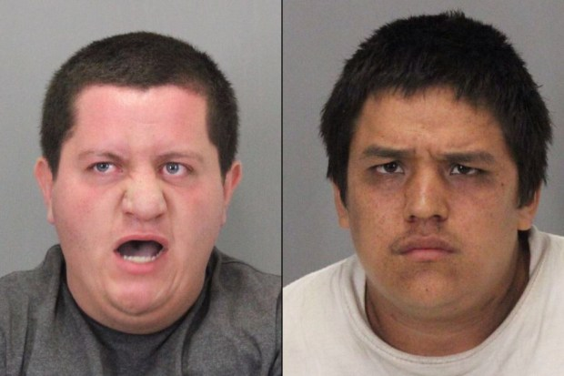 Dominic Shamo, 21, and Juan Arzate, 20, both from San Jose, were arrested in connection with a series of robberies targeting Asian women in San Jose parking lots between August and September 2017.