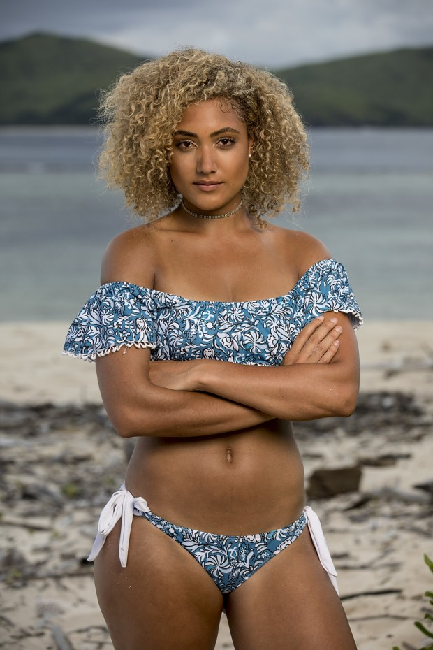 """Ali Elliott, will be one of the 18 castaways competing on SURVIVOR this season, themed """"Heroes vs. Healers vs. Hustlers,"""" when the Emmy Award-winning series returns for its 35th season premiere on, Wednesday, September 27 (8:00-9:00 PM, ET/PT) on the CBS Television Network. Photo: Robert Voets/CBS �?�2017 CBS Broadcasting, Inc. All Rights Reserved."""