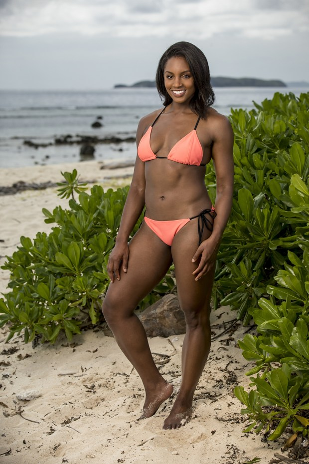 """Desiree Williams, will be one of the 18 castaways competing on SURVIVOR this season, themed """"Heroes vs. Healers vs. Hustlers,"""" when the Emmy Award-winning series returns for its 35th season premiere on, Wednesday, September 27 (8:00-9:00 PM, ET/PT) on the CBS Television Network. Photo: Robert Voets/CBS Ì?å©2017 CBS Broadcasting, Inc. All Rights Reserved."""