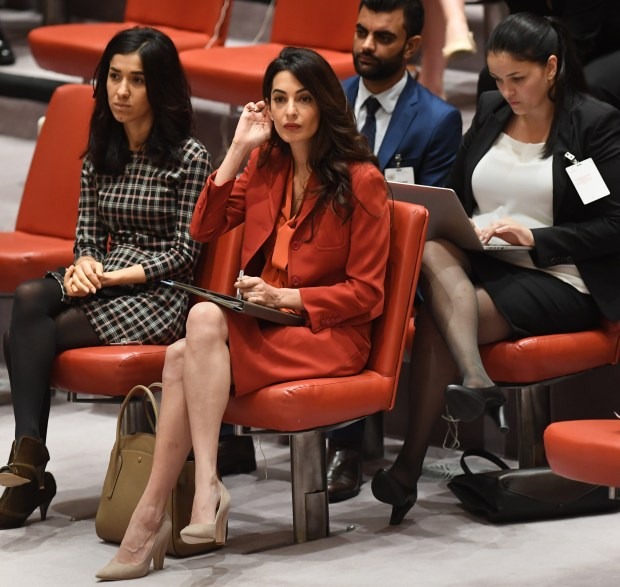 Does Ivanka Trump want to be another Amal Clooney?