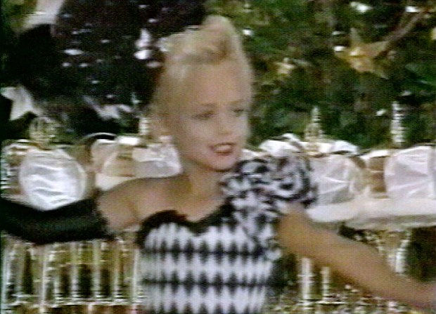 This file image made from an undated family video shows JonBenet Ramsey performing during a beauty pageant. (AP Photo/Ramsey family video)