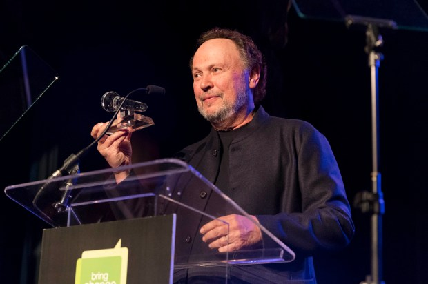 SAN FRANCISCO, CA - October 19 - Billy Crystal attends BRING CHANGE TO MIND's Annual Revels & Revelations on October 19th 2017 at Bimbo's 365 Club in San Francisco, CA (Photo - Drew Altizer)