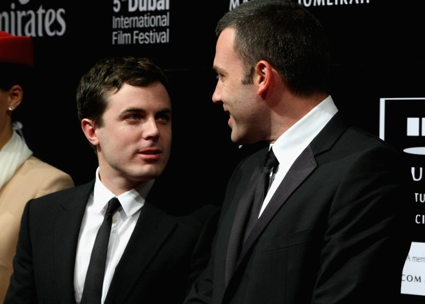 DUBAI, UNITED ARAB EMIRATES - DECEMBER 11: Actors Casey Affleck and Ben Affleck attend the Opening Night Gala of The 5th Annual Dubai International Film Festival held at the Madinat Jumeriah Complex on December 11, 2008 in Dubai, United Arab Emirates. (Photo by Andrew H. Walker/Getty Images)