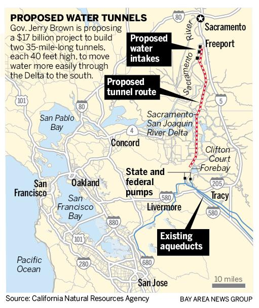 Key vote on 17 billion Delta tunnels project Tuesday in San Jose