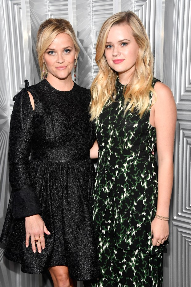 LOS ANGELES, CA - OCTOBER 16: Reese Witherspoon and Ava Phillippe attend ELLE's 24th Annual Women in Hollywood Celebration presented by L'Oreal Paris, Real Is Rare, Real Is A Diamond and CALVIN KLEIN at Four Seasons Hotel Los Angeles at Beverly Hills on October 16, 2017 in Los Angeles, California. (Photo by Frazer Harrison/Getty Images for ELLE)