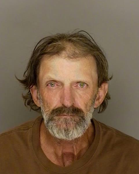 Marlon Coy, 54, of Boulder Creek, was arrested Oct. 17, 2017 on suspicion of burglarizing a home that had been evacuated for the Bear Fire.