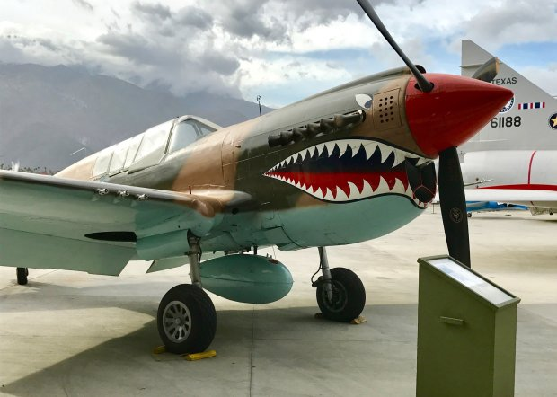 The Palm Springs Air Museum was named one of the top aviation museums inthe country by CNN. (Jackie Burrell/Bay Area News Group)