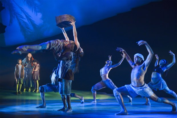 The world premiere of *The Prince of Egypt* presented by TheatreWorksSilicon Valley at the Mountain View Center for the Performing Arts, now through Nov. 5, 2017. (Kevin Berne)