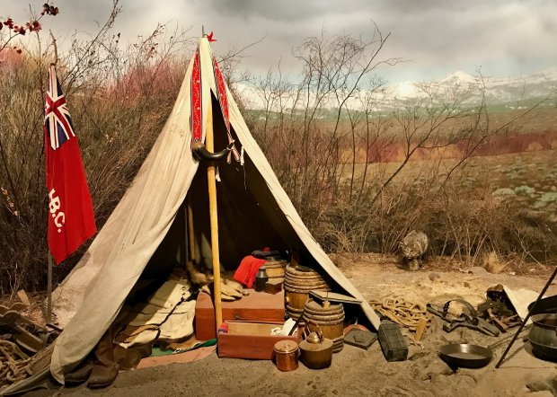 The Spirit of the West exhibit at the High Desert Museum in Bend, Oregon,traces history from the region's American Indians to the 19th century westward movement. (Jackie Burrell/Bay Area News Group)