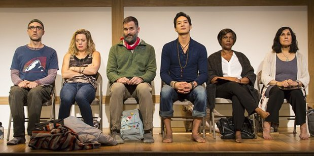 """Cast of """"Small Mouth Sounds"""" at ACT (T. Charles Erickson)--"""
