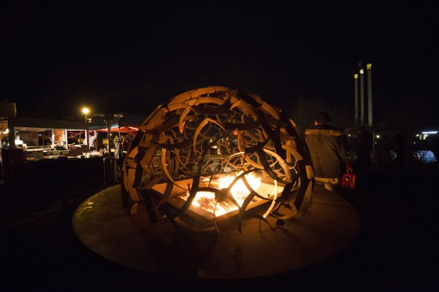 Bend's annual WinterFest celebration is a fire and ice affair with icesculptures, roaring fire pits, live music and plenty of snowy activities for kids and grown-ups alike. (WinterFest)