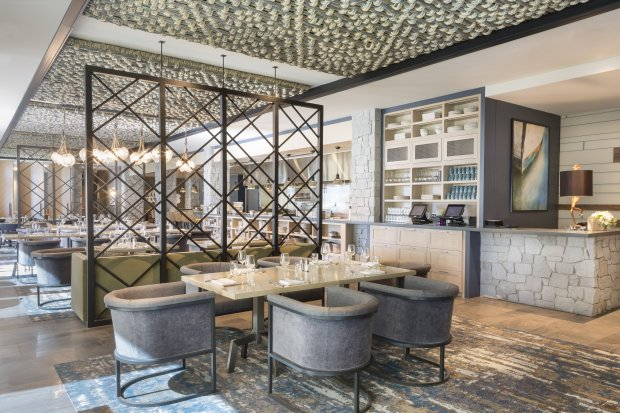 The Bistro at Edgewood is a beautiful, modern eatery that specializes inwood-fired pizzas, salads and sandwiches (Photo courtesy Noah Webb)