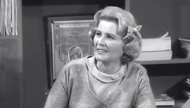 "Rose Marie in a 1962 episode of ""The Dick Van Dyke Show."" (CBS)"