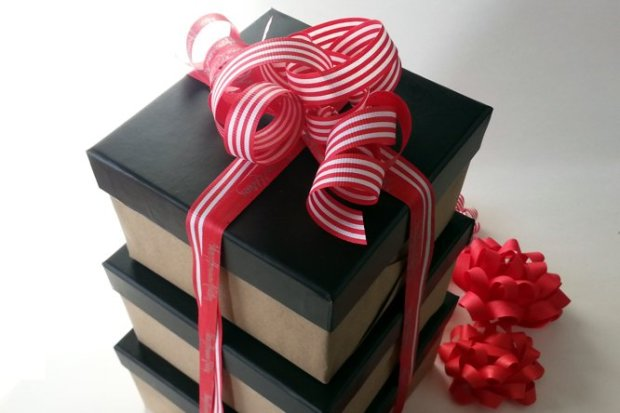 While most ribbons are made out of plastic or acetate, Cream City Ribbonmakes eco-friendly ribbons that bio-degradable. (Courtesy Cream City Ribbon)
