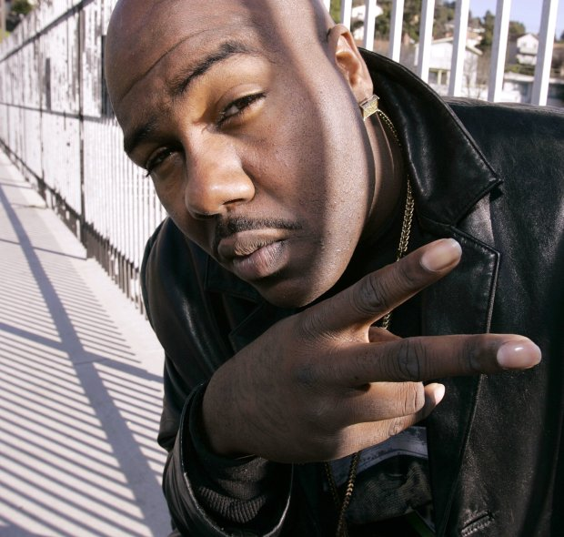 """** ADVANCE FOR THE WEEKEND OF DEC. 30-31, ** Mistah F.A.B. is seen Tuesday, Dec. 19, 2006, in Oakland, Calif. The Oakland rapper's single, """"Ghostride It,"""" describes how to perform a dangerous stunt while driving a car. The stunt has gotten at least two people killed, led to numerous injuries and alarmed police on the West Coast and beyond. (AP Photo/Ben Margot)"""