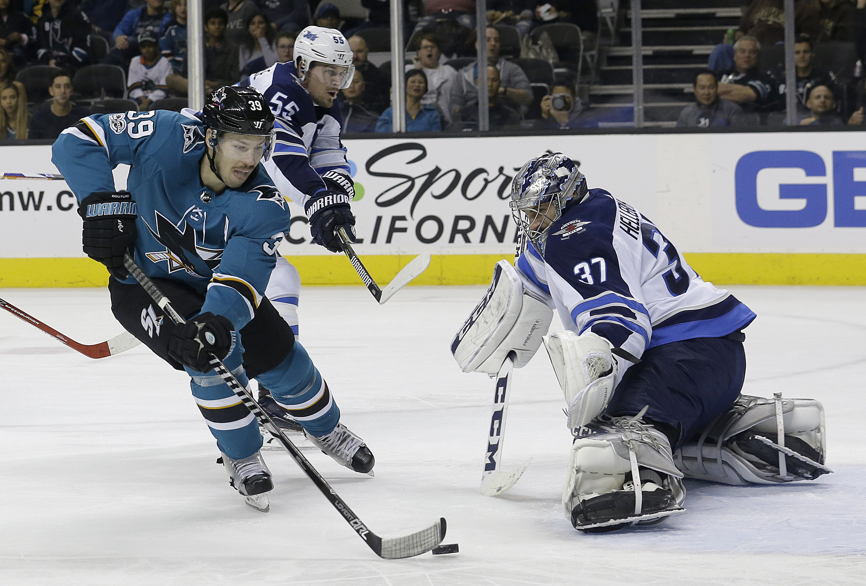 Winnipeg Jets vs. San Jose Sharks NHL Odds, Prediction
